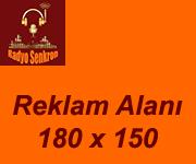 Reklam Alanı 180 x 150